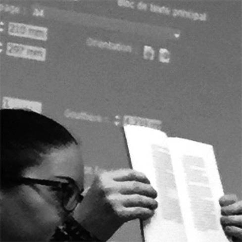 cours d'initiation à la typographie au plomb, la linogravure, école, letterpress