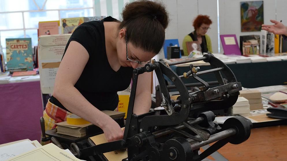 pedalette leterpress impression typographique caractère plomb
