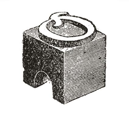 filets plomb letterpress