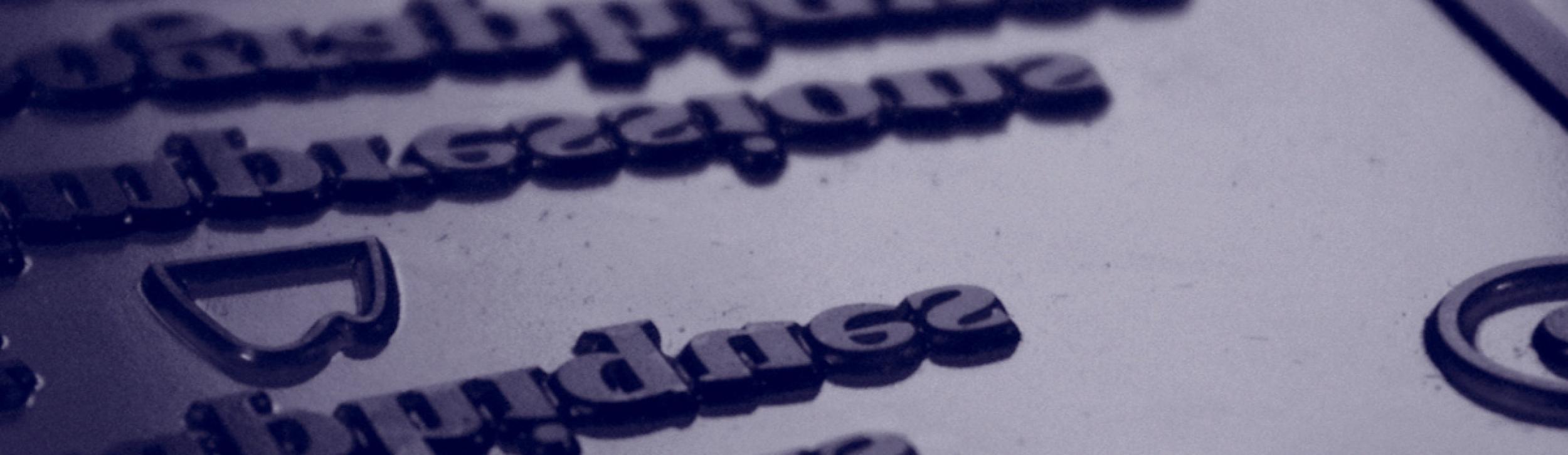 Impression letterpress