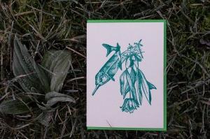 carte postale / Tournée